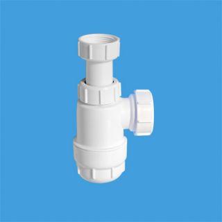 сифон бутылочный (1 1/4'x32мм) без выпуска; выход компрессионный Ду=40мм
