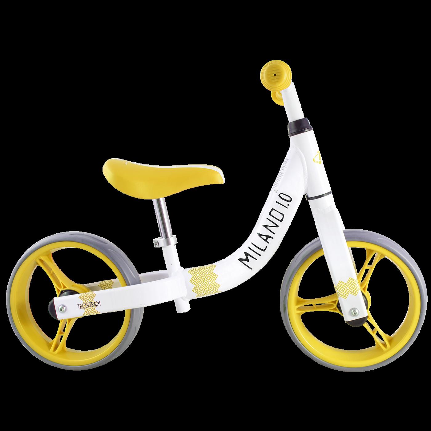 Беговел ТТ Milano 1 2019 белый-желтый