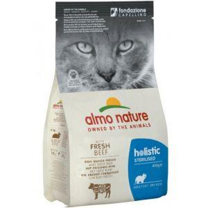 Almo Nature Для кастрированных кошек с Говядиной и Рисом