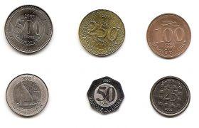 Набор монет Ливан (1996 -2009)