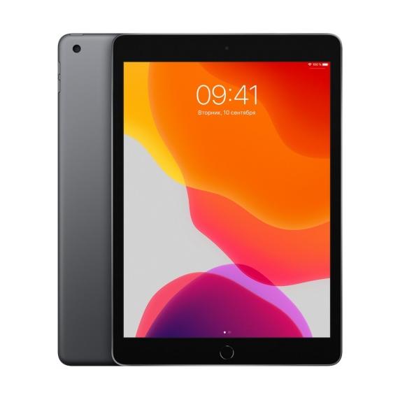 Apple iPad 10.2 Wi-Fi + Cellular 128 ГБ «Серый космос»