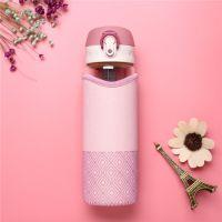 Бутылка для воды Fashion 500 мл (цвет розовый)_4
