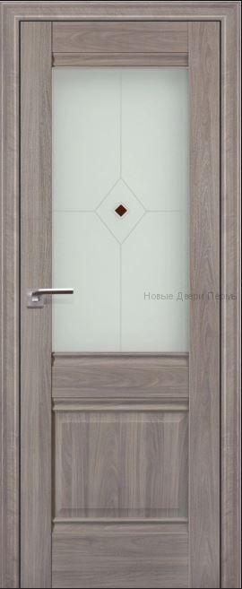 2Х Пекан - со стеклом - PROFIL DOORS межкомнатные двери