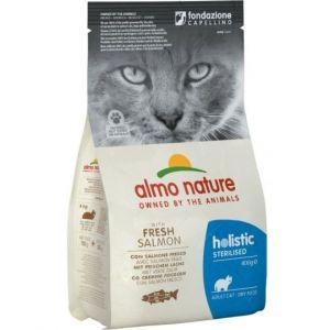 Almo Nature Для кастрированных кошек с Лососем и Рисом