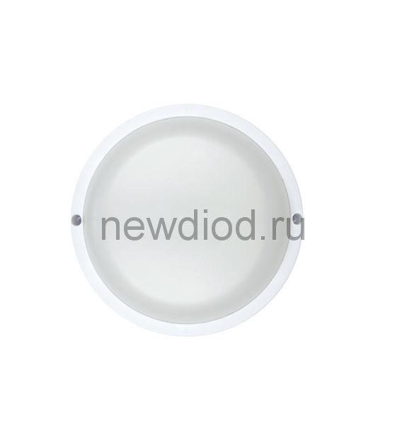 Светильник светодиодный герметичный СПП-КРУГ 12Вт 230В 6500К 960Лм IP65 IN HOME