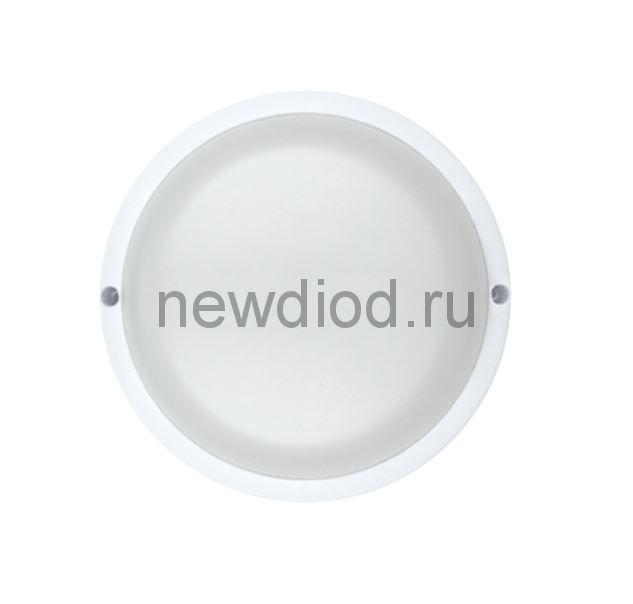 Светильник светодиодный герметичный СПП-КРУГ 8Вт 230В 6500К 640Лм IP65 IN HOME