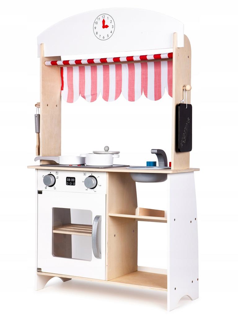 Кухня деревянная ECOTOYS