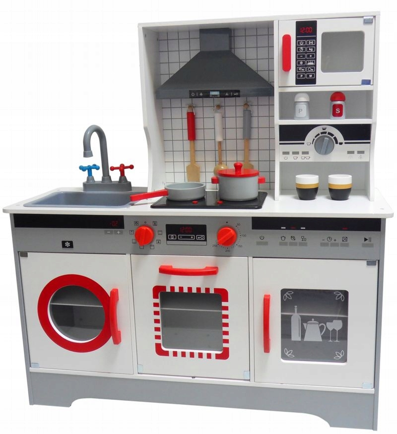 Кухня деревянная с аксессуарами W10C467