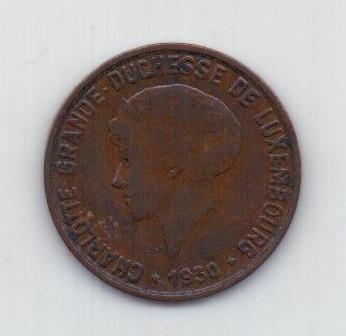10 сантимов 1930 года Люксембург
