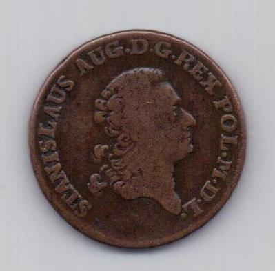3 гроша 1777 года Литва Польша
