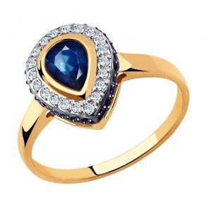 Кольцо из золота 018430 SOKOLOV