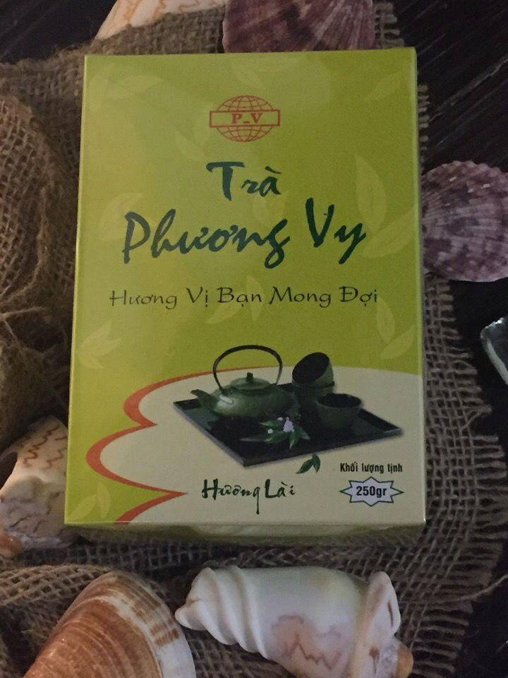 Чай зеленый с жасмином (Phuong Vy Tra Lai), 250 г.