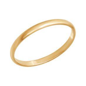 Тонкое обручальное кольцо 110032 SOKOLOV