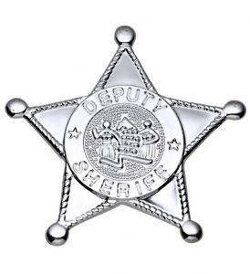 Звезда Шерифа (серебрянная)