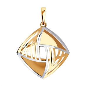 Подвеска из золота 035915 SOKOLOV