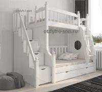 Кровать двухъярусная Принцесса №21IR