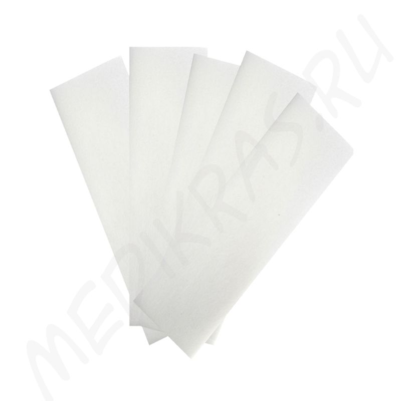 Полоски бумажные для депиляции белые №100