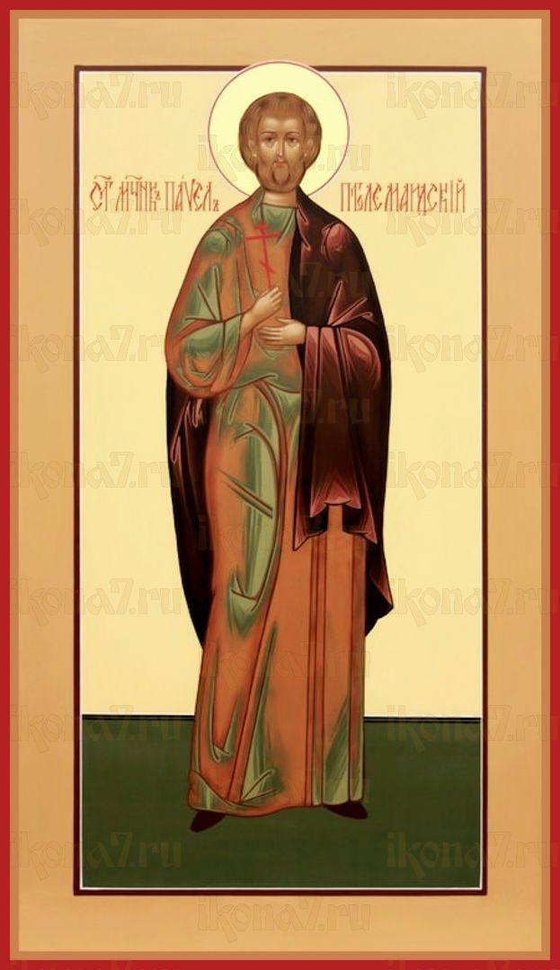 Икона Павел Птолемаидский мученик