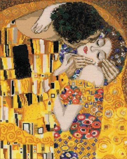 Набор для вышивания крестом Поцелуй 1170 фирма Риолис