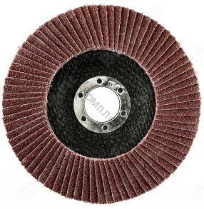 Круг лепестковый торцевой 125*22мм P60