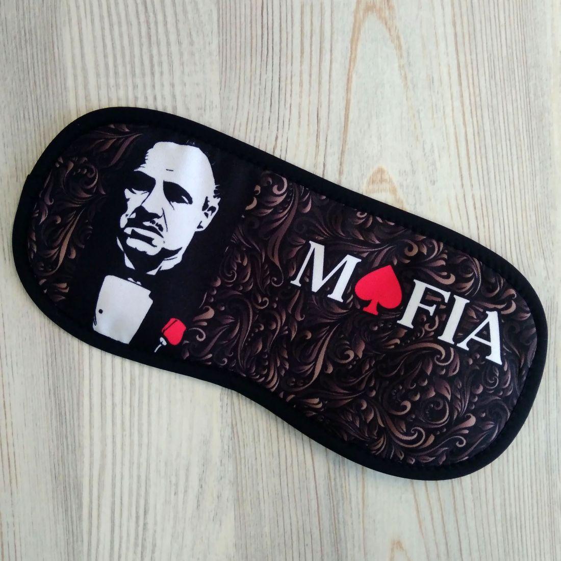 Именная маска Mafia для антикафе