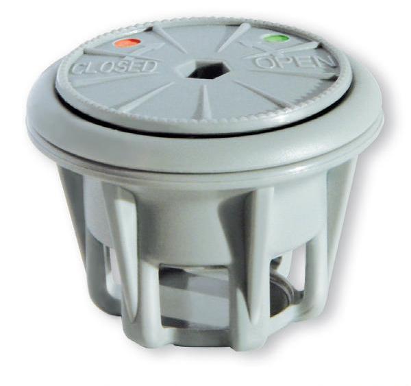 Клапан стравливающий VA-100 270/230 мбар, серый