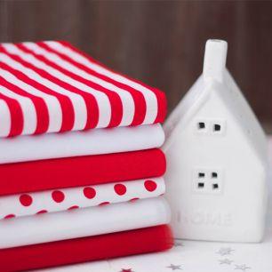 Набор тканей для творчества Красная любовь