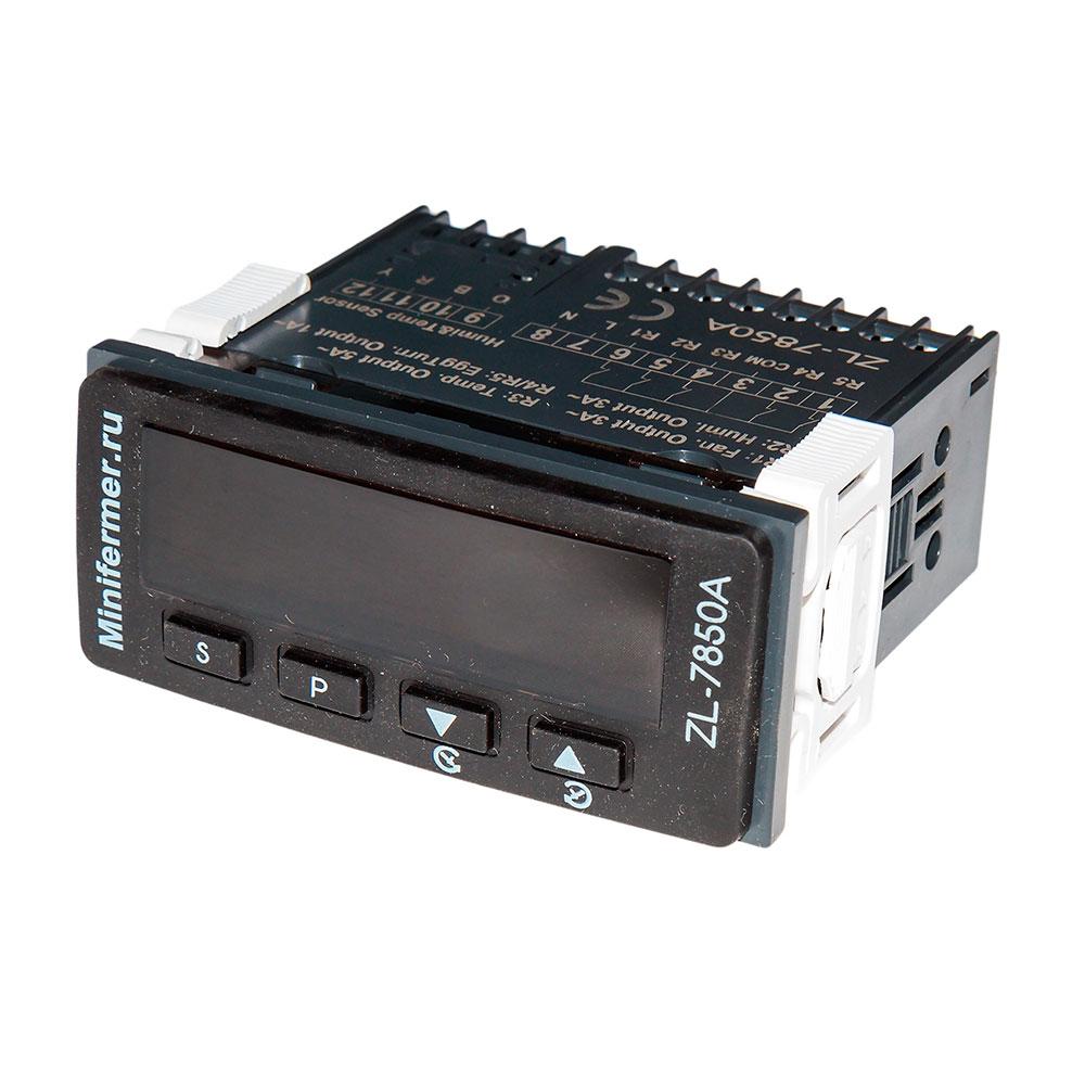Терморегулятор Lilytech 7850B (темп + влажность + 2 таймера)