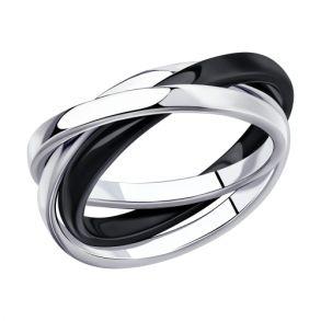 Кольцо из серебра 94014579 SOKOLOV