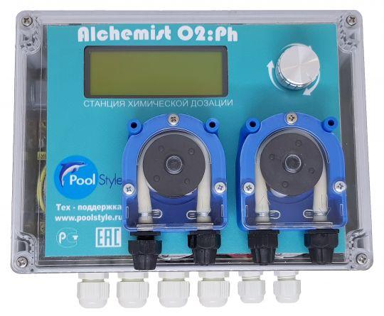 Автоматическая станция дозирования химических реагентов Alchemist Ph/O2