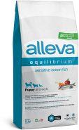 Alleva Equilibrium Sensitive Ocean Fish Puppy All Breeds Полнорационный сухой корм для щенков, беременных и кормящих сук всех пород с океанической рыбой, 12кг