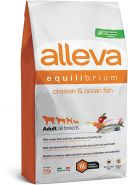 Alleva Equilibrium All Day Maintenance Chicken & Ocean Fish All Breeds Полнорационный сухой корм для взрослых собак всех пород с курицей и океанической рыбой, 2кг
