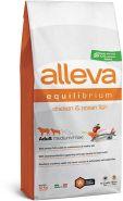 Alleva Equilibrium All Day Maintenance Chicken & Ocean Fish Medium/Maxi Полнорационный сухой корм для взрослых собак средних и крупных пород, с курицей и океанической рыбой, 12кг