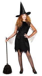 Платье ведьма черное