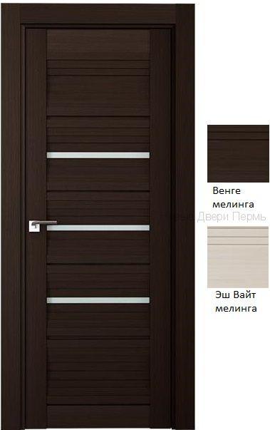 18Х  дверь со стеклом PROFIL DOORS межкомнатная