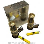 ЛБВК Индикатор газа газосигнализатор для обнаружения загазованности смотровых колодцев ИГ, лампа ЛБВК-М (ЛБВК, LBVK)