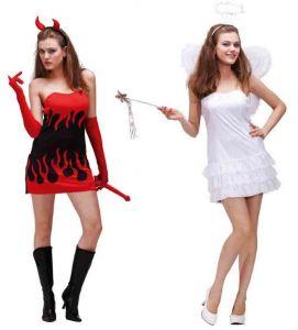 Двустороннее Платье Ангел-Дьявол
