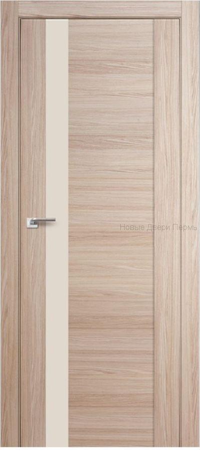 62Х капучино мелинга Lacobel Перламутровый лак  дверь PROFIL DOORS межкомнатная