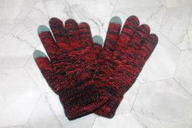 Вязаные шерстяные женские и подростковые сенсорные перчатки КЧ