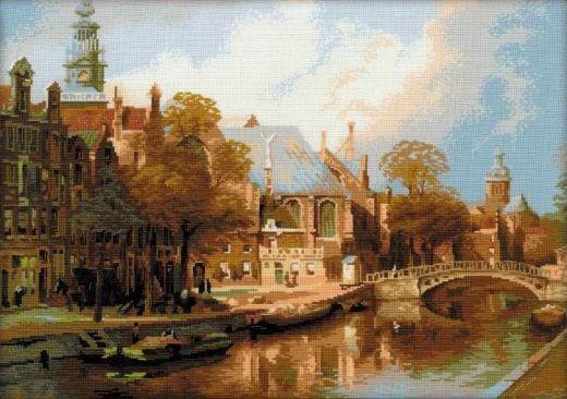 Набор для вышивания крестом Амстердам № 1189 фирма Риолис