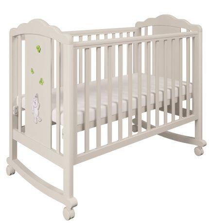 Кроватка детская Polini kids 621 Зайки Зеленый