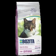 BOZITA Hair&Skin WF Salmon Корм для взрослых и растущих кошек, для здоровой кожи и блестящей шерсти с лососем. 10кг