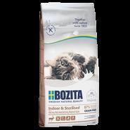 BOZITA Indoor&Sterilized Grain Free Сухой корм для взрослых и растущих кошек, ведущих малоподвижный образ жизни, а также для стерилизованных кошек с мясом оленя. 2кг