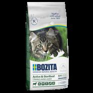 BOZITA Active&Sterilized Grain Free Сухой корм для активных стерилизованных взрослых и растущих кошек c мясом ягнёнка, 10кг