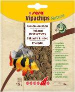 SERA Випачипс Основной корм в форме чипсов для всех придонных рыб (15 г)