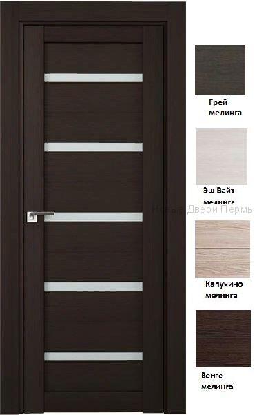 7Х  дверь со стеклом PROFIL DOORS межкомнатная