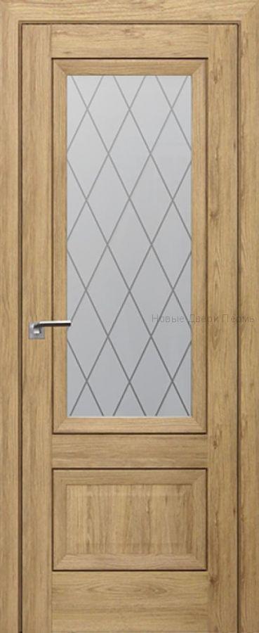 2.90 XN Салинас светлый, стекло Ромб дверь PROFIL DOORS межкомнатная