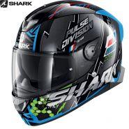 Шлем Shark Skwal 2 Noxxys, Черно-сине-зеленый