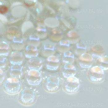 DeLuxe Хрустальные Полубусины Crystal_DeLight 8мм