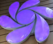Люстра цветок RGB +Пульт